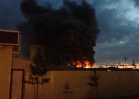Нефтеюганск пожар городской рынок|Фото: