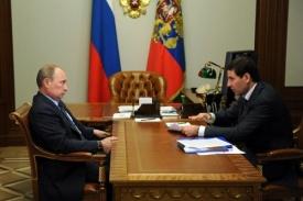 Путин и Юревич|Фото:kremlin.ru