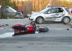 дтп, мотоцикл, иномарка, Нягань, труп|Фото: УМВД по ХМАО