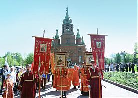 Крестный ход Челябинск Фото: gubernator74.ru