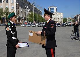 Курган полиция кадет награждение|Фото: 45.mvd.ru