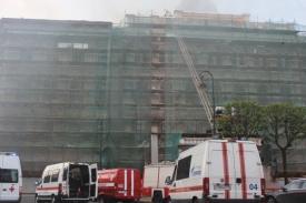 пожар, Петербург, Технологический институт|Фото:78.mchs.gov.ru