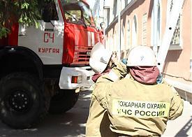 Курган пожар Фото: zauralonline.ru