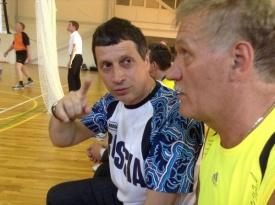 рапопорт, мэры, волейбол Фото: Вадим Дубичев
