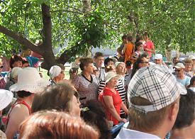 Митинг против отключения воды Аша|Фото: Сергей Иванов