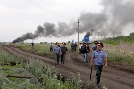 погром лагеря геологов, воронеж, угмк|Фото: savekhoper.ru/