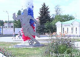 памятник футболисту Фото: Накануне.RU