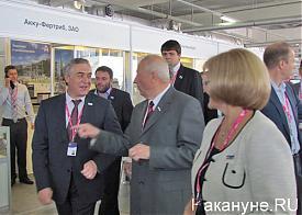 открытие Иннопром-2013, Россель, Силин|Фото: Накануне.RU