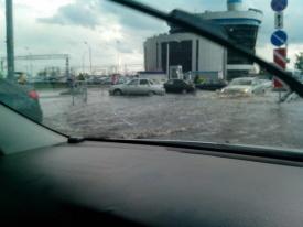 Челябинск ливень потоп|Фото:Ева Андрейчук