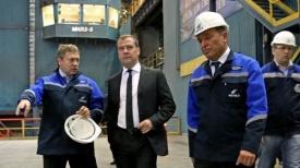 Медведев ЧМК|Фото:пресс-служба Правительства России