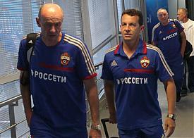ЦСКА прибыли в Екатеринбург|Фото: pfc-cska.com