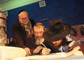 хасиды, пермская синагога, Дайч, евреи, Хабад Любавич Фото: newsko.ru