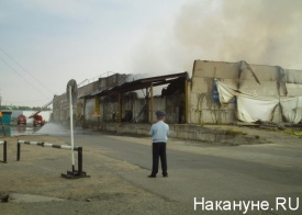пожар склад нефтеюганск|Фото: Накануне.RU