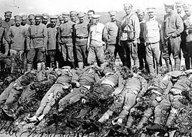 Большевики, убитые чехами под Владивостоком|Фото: telegrafua.com