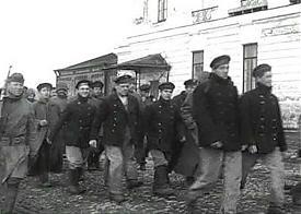 Пленные красноармейцы в Архангельске|Фото: telegrafua.com
