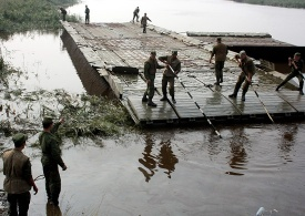 военные ликвидируют последствия наводнения в Челябинской области|Фото:structure.mil.ru