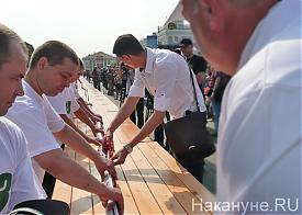 Курган колбаса рекорд  Фото: Накануне.RU