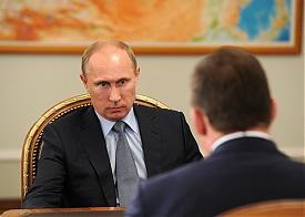 встреча Путин Куйвашев|Фото: kremlin.ru