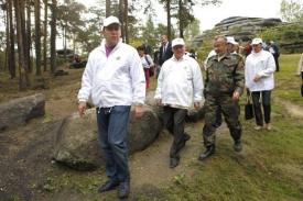 куйвашев, карпов, шарташ|Фото: департамент информационной политики губернатора Свердловской области