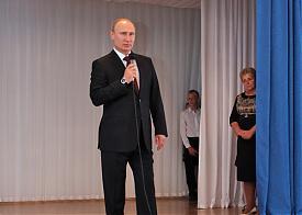 Курган Владимир Путин школа№7|Фото: nm45.ru