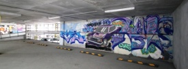 парковка, гринвич, граффити, стенограффия Фото: малышева-73