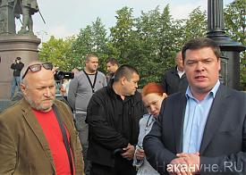 митинг против криминала во власти, 05.09.2013, Александр Рявкин, Андрей Санников|Фото: Накануне.RU