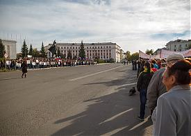 митинг БАЗ рабочие Фото: alshevskix.livejournal.com