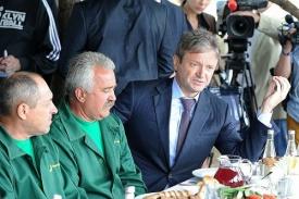 ткачев, комбайнеры, борщ Фото: kremlin.ru
