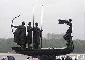 памятник основателям Киева|Фото: Накануне.RU