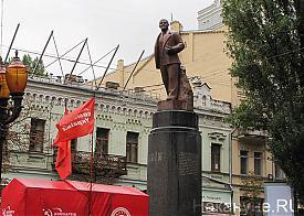 памятник Ленину, Киев|Фото: Накануне.RU