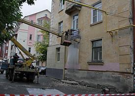 Курган снос балкона Фото: nm45.ru