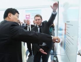 заместитель председателя Народного Правительства СУАР КНР Ши Даган|Фото: gubernator74.ru
