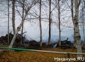пожар пепелище Фото: Накануне.RU
