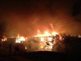 пожар, нефтеюганск Фото: