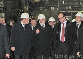 Евгений куйвашев, Виктор Вексельберг, Уральский турбинный завод|Фото: Накануне.RU