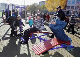 Курган открытие спортивного комплекса|Фото: пресс-служба губернатора Курганской области