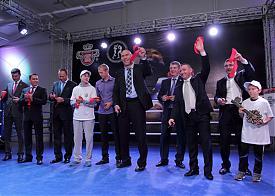 Курган открытие спортивного комплекса, Николай Валуев, депутат ГосДумы|Фото: пресс-служба губернатора Курганской области