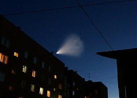 НЛО, ракета, метеорит|Фото: vk.com