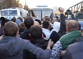 беспорядки, бунт, митинги в Бирюлево|Фото: youtube.com