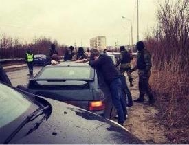 бпан, низко посаженное авто, нефтеюганск|Фото:
