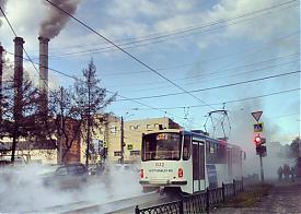 прорыв трубы, Радищева Гурзуфская, Екатеринбург|Фото: vk.com/te_ekb