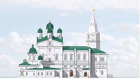 Далматовский монастырь, проект реставрации |Фото: пресс-служба губернатора Курганской области