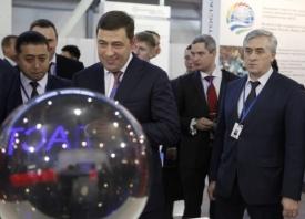 Куйвашев, форум Россия-Казахстан|Фото: департамент информационной политики губернатора Свердловской области