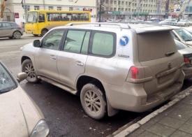Тойота, автомобиль Евгения Ройзмана|Фото: twitter.com/Sokhovich/