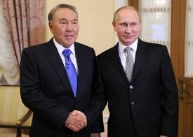Назарбаев, Путин|Фото: kremlin.ru