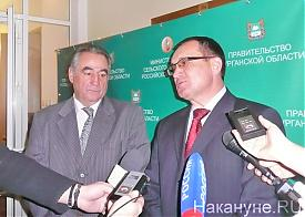 Министр сельского хозяйства РФ Николай Федоров, Олег Богомолов Фото: Накануне.RU