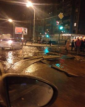 потоп, авария, Пионерский|Фото: facebook.com/usowelu
