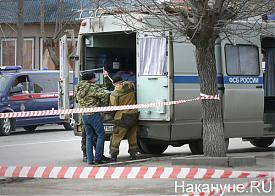 Курган, обнаружена граната Ф-1, оцепление, ФСБ России|Фото: Накануне.RU