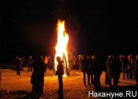 костер, огонь, пламя, уральский медиафорум|Фото: Накануне.RU