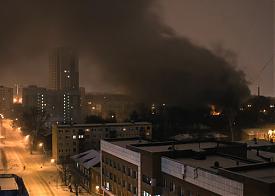 пожар, Уралмаш, деревянный барак|Фото: vk.com/te_ekb